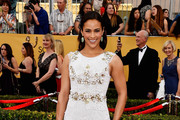 Paula Patton Beaded Dress