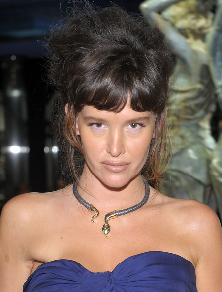 Paz de la Huerta Sterling Choker Necklace
