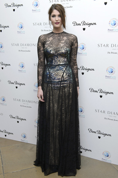 More Pics of Gemma Arterton Evening Dress (1 of 9) - Gemma Arterton Lookbook - StyleBistro