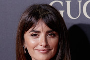 Penelope Cruz Long Straight Cut with Bangs