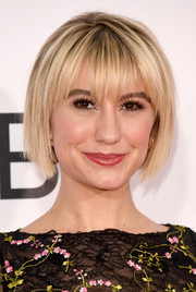 Chelsea Kane looked hip with her choppy bob at the 2017 People's Choice Awards.