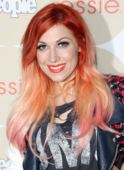 Bonnie McKee was a head turner at the Ones to Watch party with her striking ombre locks.