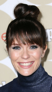 Katie Aselton looked oh-so-cute with her top knot during the Ones to Watch party.