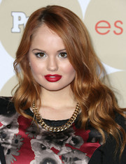 Debby Ryan charmed with this lovely side-parted wavy 'do at the Ones to Watch party.
