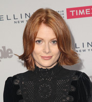 Emily Beecham wore a short 'do with flipped ends during People's Ones to Watch event.