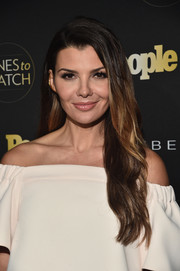 Ali Landry looked beautiful with her long wavy hair at the Ones to Watch event.