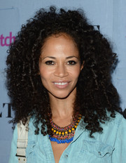 Sherri Saum looked funky with her wild curls at the People StyleWatch Denim Awards.