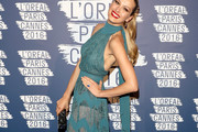 Petra Nemcova Halter Dress