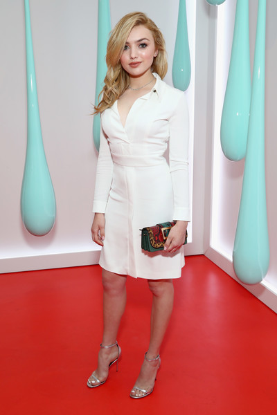 Peyton List Shirtdress