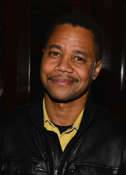 More Pics of Cuba Gooding Jr. Leather Jacket (1 of 2) - Cuba Gooding Jr. Lookbook - StyleBistro