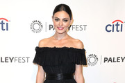 Phoebe Tonkin Off-the-Shoulder Dress