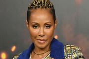 Jada Pinkett Smith Short Cornrows