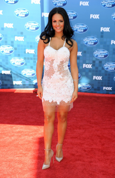 american idol pia dress. Pia Toscano Shoes