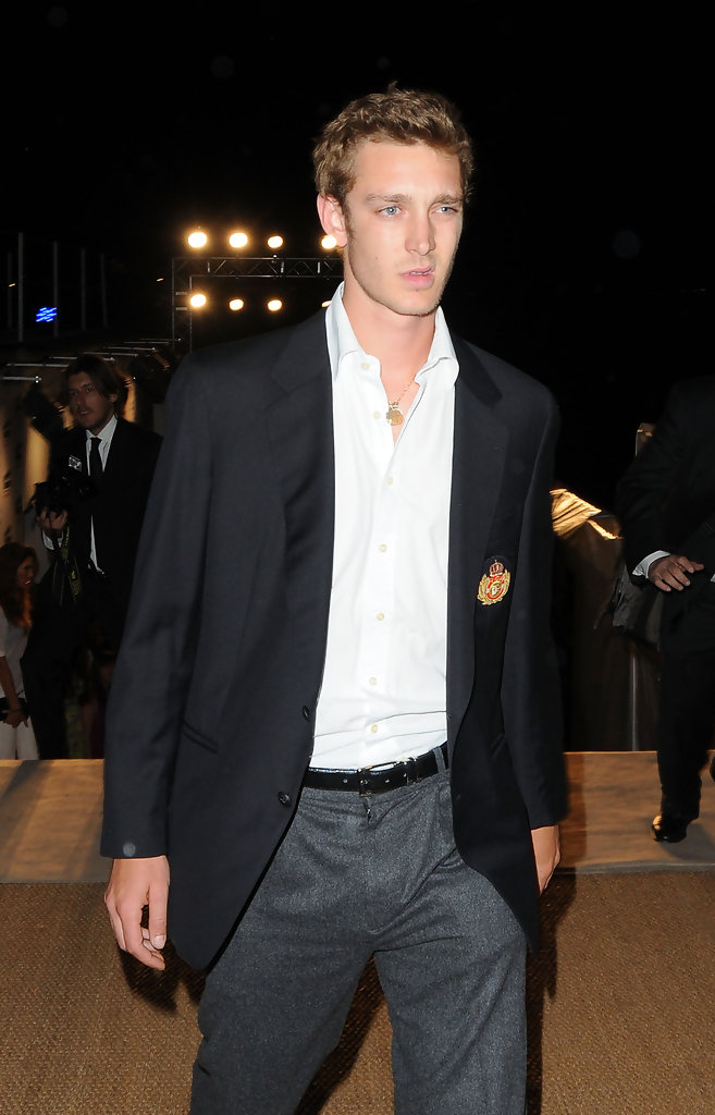 Pierre Casiraghi Blazer Pierre Casiraghi Looks Stylebistro