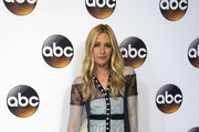 Piper Perabo Lace Dress