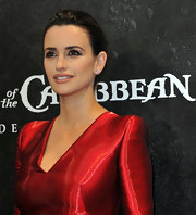 Penelope Cruz added touches of shimmering metallic eyeshadow at the German premiere of 'Pirates of the Caribbean: On Stranger Tides.'