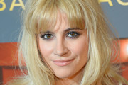 Pixie Lott Long Wavy Cut with Bangs