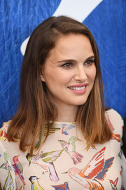 Natalie Portman sported a simple mid-length bob at the Venice Film Festival photocall for 'Planetarium.'