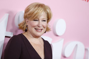 Bette Midler wore her hair in a layered razor cut at the New York premiere of 'The Politician.'