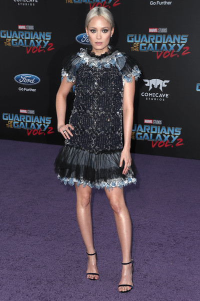 Pom Klementieff Beaded Dress