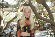 Poppy Delevingne Crop Top