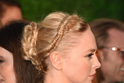 Portia Doubleday Braided Updo