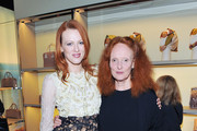 Grace Coddington and Karen Elson Photo