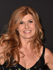 Connie Britton sported windblown waves at the LA premiere of 'Past Forward.'