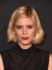 Kate Mara attended the LA premiere of 'Past Forward' wearing her hair in a casual bob.