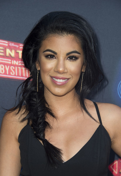 Chrissie Fit looked fetching with her fishtail braid at the premiere of 'Adventures in Babysitting.'