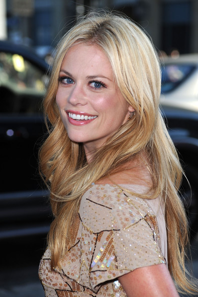 More Pics of Claire Coffee Long Wavy Cut (4 of 4) - Claire Coffee Lookbook - StyleBistro