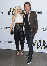 As the queen of harem pants herself, Gwen, rocked a leather version of the edgy look.