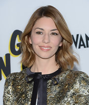 Sofia Coppola chose a slight wave for her stylish look at the premiere of 'The Bling Ring.'