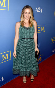 Alicia Silverstone attended the premiere of 'Room' looking divine in a leaf-embroidered green dress. Aww, Cher is all grown and glammed up!