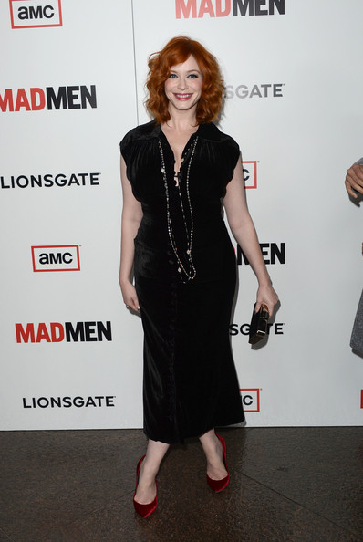 More Pics of Christina Hendricks Pumps (5 of 67) - Christina Hendricks Lookbook - StyleBistro