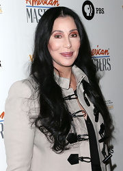 Cher wore her long hair loose in subtle waves when she attended the premiere of 'American Masters Inventing David Geffen.'