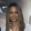 Halle Berry's Pin-Straight Layers