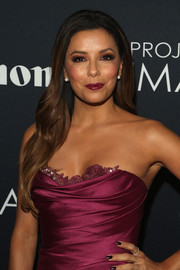Eva Longoria looked quite the diva during Canon's Project Imagina10n Film Festival with her flowy waves and glamorous outfit.
