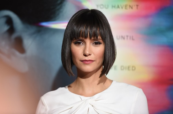 Nina Dobrev debuted a cute bob with choppy bangs at the premiere of 'Flatliners.'