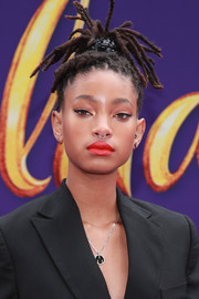 Willow Smith looked cool with her dreadlocks at the premiere of 'Aladdin.'