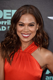 Toni Trucks attended the 'Alexander and the Terrible, Horrible, No Good, Very Bad Day' premiere sporting center-parted, high-volume waves.