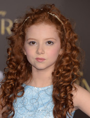 Francesca Capaldi was an absolute cutie with her long red curls at the Hollywood premiere of 'Cinderella.'