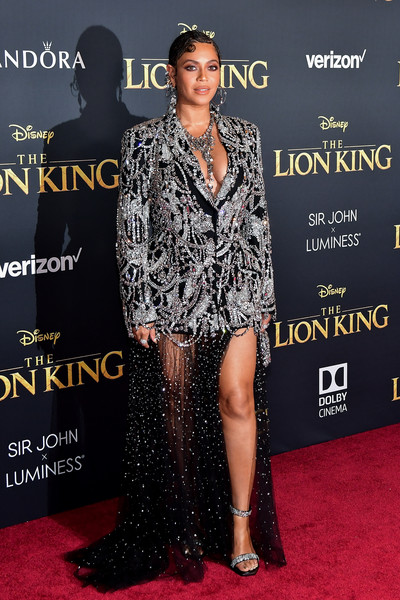 More Pics of Beyonce Knowles Skirt Suit (1 of 6) - Beyonce Knowles Lookbook - StyleBistro