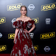In Valentino Couture At The 'Solo: A Star Wars Story' Premiere, 2018