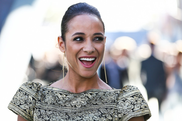 Dania Ramirez kept it classic with this brushed-back bun at the premiere of 'Pirates of the Caribbean: Dead Men Tell No Tales.'