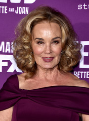 Jessica Lange looked charming with her voluminous curls at the premiere of 'Feud: Bette and Joan.'