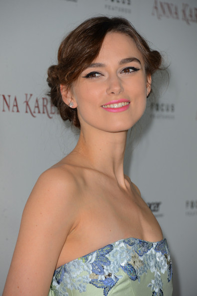 More Pics of Keira Knightley Chignon (2 of 53) - Keira Knightley Lookbook - StyleBistro