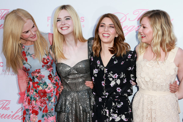 More Pics of Elle Fanning Layered Cut (1 of 22) - Long Hairstyles Lookbook - StyleBistro [the beguiled,event,lady,dress,fashion,pink,premiere,blond,fun,friendship,long hair,arrivals,kirsten dunst,sofia coppola,actors,elle fanning,l-r,focus features,premiere,premiere]