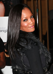 Garcelle rocked straight locks while attending the premiere 'Frankie and Alice'.