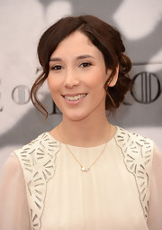 Sibel Kekilli topped off her soft and ethereal red carpet look with this loosely pinned updo.